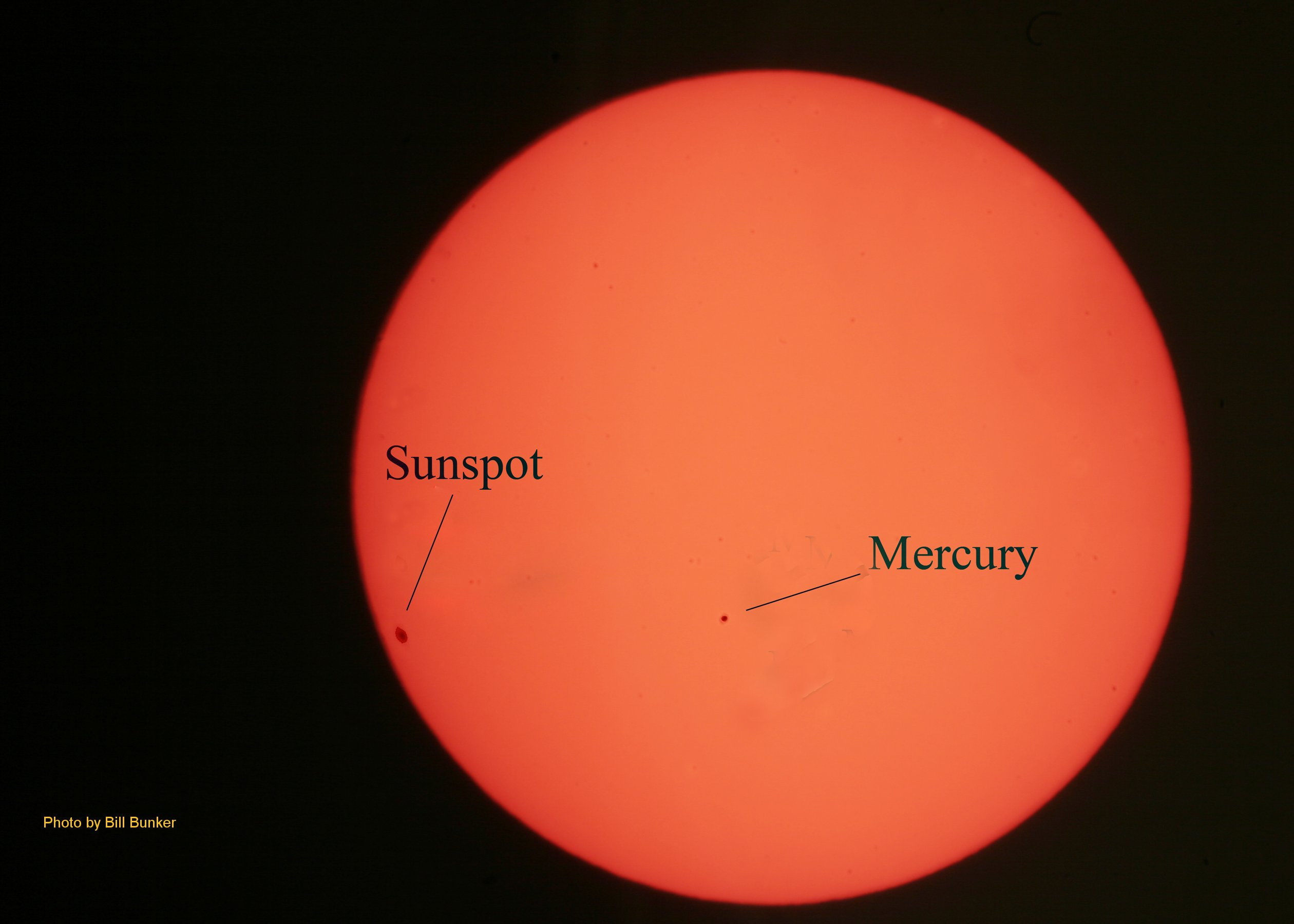 May 9, 2016 - Mercury Transit Black Dot
